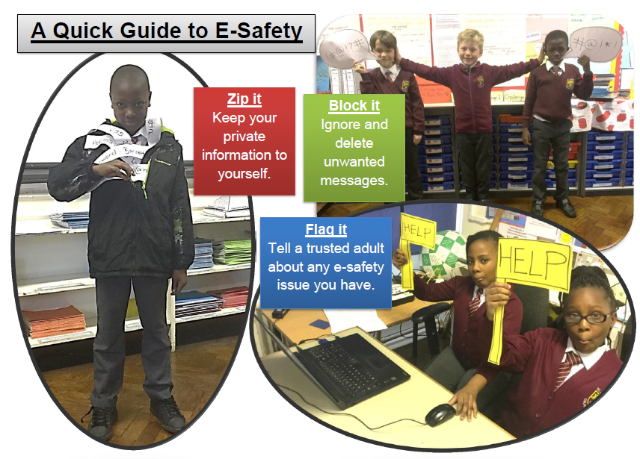 E-Safety Poster Picture