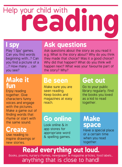 help your child with reading