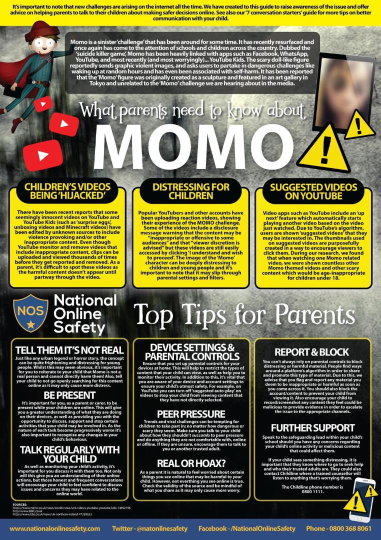 What parents need to know about MOMO(3)
